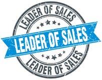 Lider sprzedaż znaczek royalty ilustracja