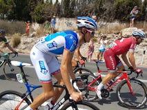 Lidera en los angeles Vuelta españa 2017 Fotografia Stock