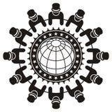 lidera globalny spotkanie Zdjęcia Stock