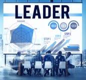 Lidera przywódctwo Biznesowego spotkania pojęcie royalty ilustracja