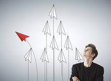 Liderança e conceito do sucesso Fotos de Stock Royalty Free