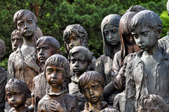 Lidice memorial Royalty Free Stock Photo
