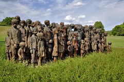 Lidice memorial Royalty Free Stock Photos