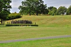 Lidice memorial Stock Photo