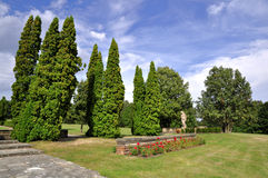 Lidice memorial Royalty Free Stock Photo