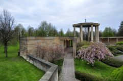 Lidice memorial Royalty Free Stock Images