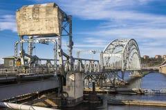The Lidingö Bridge Stock Photos
