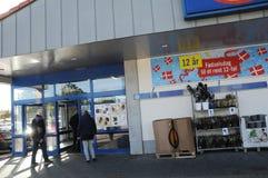 LIDL DISOCUNT sklepu spożywczego łańcuch Obraz Royalty Free
