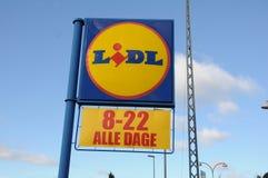 LIDL DISOCUNT sklepu spożywczego łańcuch Fotografia Stock