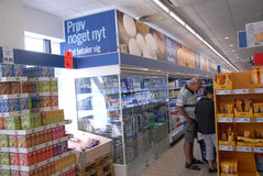 LIDL GROCERY STORE Stock Image