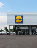Lidl grocery store Royalty Free Stock Photography
