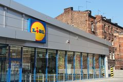 Lidl Poland Stock Images