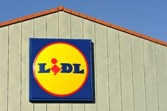 Lidl Royalty Free Stock Photos
