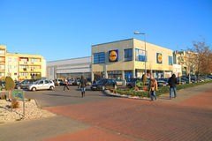 Lidl store in Elblag Royalty Free Stock Images