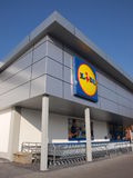 Lidl store, Lublin, Poland Stock Images