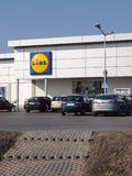 Lidl store, Lublin, Poland Stock Photos