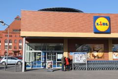 Lidl store Royalty Free Stock Image