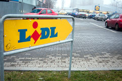 Lidl store Royalty Free Stock Photo