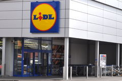 Lidl store Stock Photography