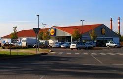 Lidl supermarket Stock Image