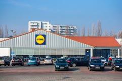 Lidl supermarket Zdjęcia Stock