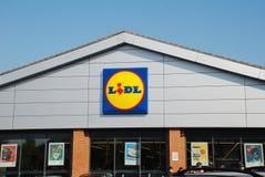 Lidl supermarket, Anglia Zdjęcia Royalty Free