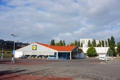 Lidl supermarket Stock Photos