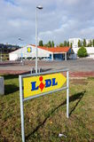 Lidl supermarket Royalty Free Stock Images