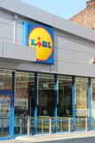 Lidl supermarket Royalty Free Stock Photos