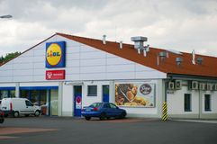 Lidl Royalty Free Stock Photography