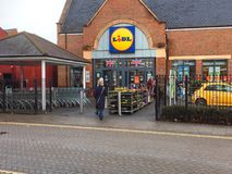 Lidl superstore or supermarket. Stock Image