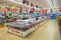 Lidlsupermarkt Royalty-vrije Stock Foto's