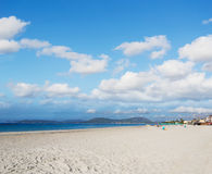 Lido in Alghero Stock Photography