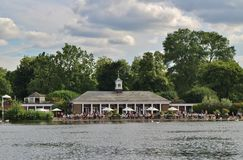 Lido Bar and Cafe at the Serpentine Royalty Free Stock Photo