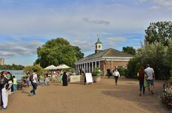Lido Bar and Cafe at the Serpentine Royalty Free Stock Images