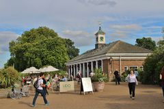 Lido Bar and Cafe at the Serpentine Stock Image