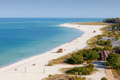 Lido Beach in Siesta Key. Sarasota, Florida Stock Photos