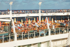 Lido Deck On The Oasis Of The Seas Stock Photos
