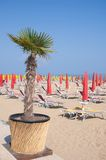 Lido di Jesolo,adriatic Sea,Italy Royalty Free Stock Photos