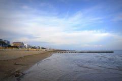 Lido di Jesolo Beach Stockfoto