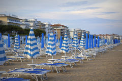 Lido Di Jesolo beach Royalty Free Stock Images