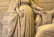 Lido di Jesolo, Italia: Natività 2016 della sabbia: scultures meravigliosi della sabbia che descrivono la famiglia sacra e l'esod Immagine Stock Libera da Diritti