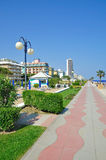 Lido di Jesolo,Italy,Adriatic Sea royalty free stock photography