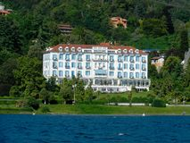 Lido-Palast-Hotel, Baveno lizenzfreie stockbilder