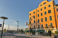 Lido Riviera Σάντα Μαρία Elisabetta, Ιταλία Στοκ φωτογραφία με δικαίωμα ελεύθερης χρήσης