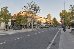 Lido Santa Maria Elisabetta street, Italy. Royalty Free Stock Image