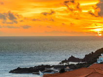 Lido Sunset Stock Photography