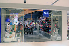 Lids shop in hong kong Stock Images