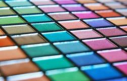 Lidschatten und Lipgloss Lizenzfreie Stockfotografie