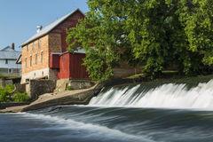 Lidtke Grist Mill Royalty Free Stock Image